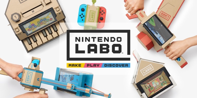 Nintendo Drops Cool Cardboard Add-ons