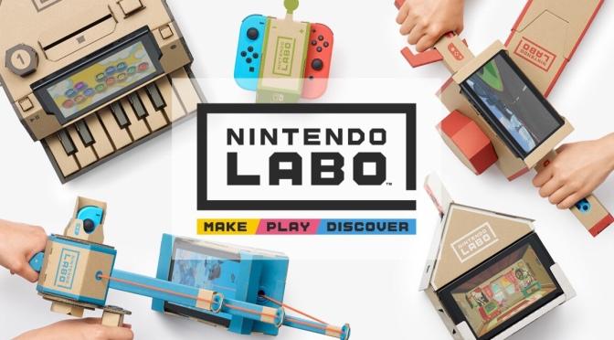 Nintendo Drops Cool Cardboard Add-ons